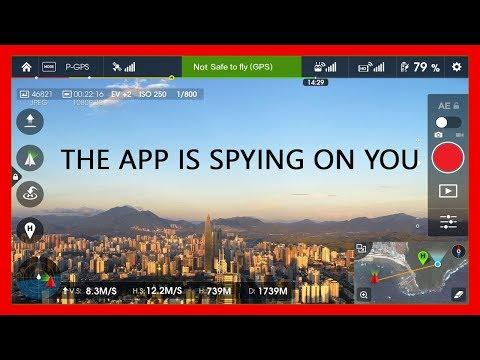 KEN HERON - The DJI Go app is doing SNEAKY things