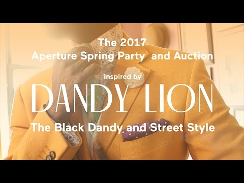 "The 2017 Aperture Spring Party inspired by ""Dandy Lion"""