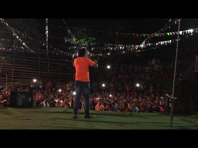 Crazy Audience Singing With Prakash Saput | Bola Maya | Dohori Battle | Makur Makur| Syangja 2018