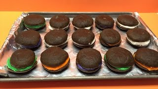 How To Make Chocolate Whoopie Pies Tutorial