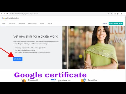 how to learn online digital marketing  FREE from Google With Certificate||Google digital markiting