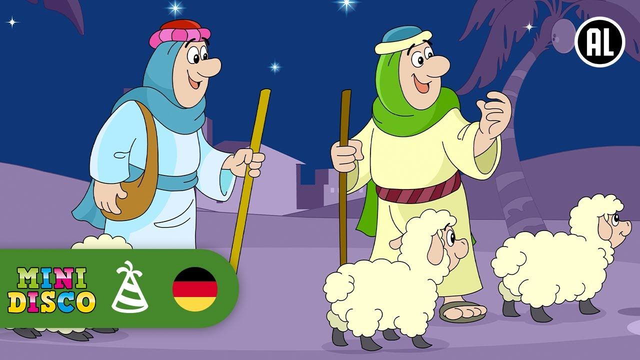 Hirten Bilder Weihnachten.Weihnachten Weihnachtslieder Die Hirten Die Lagen Bei Nachte Minidisco