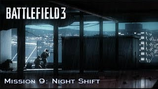 Battlefield 3 - Campaign Mission 9: Night Shift (HD PS3 Gameplay)