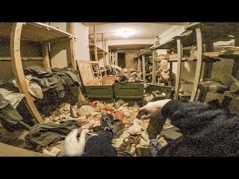 I found a fully stocked underground safe house...