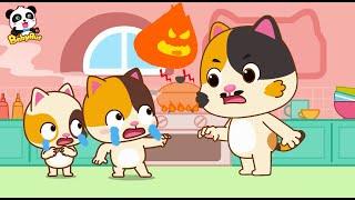 Gambar cover やけどをしたとき   子ども向け安全教育   赤ちゃんが喜ぶアニメ   動画   BabyBus