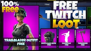 How to get THE NEW FREE SKIN LOOT in FORTNITE! l Exclusive Twitch Prime Pack l 100% FREE NO WORK!!