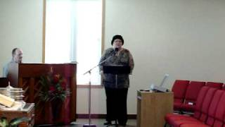 It is well with my soul, sung by Kathalena Scott