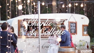 The Bride Atlas Presents - Charlie and Collette Vintage Caravan Bar