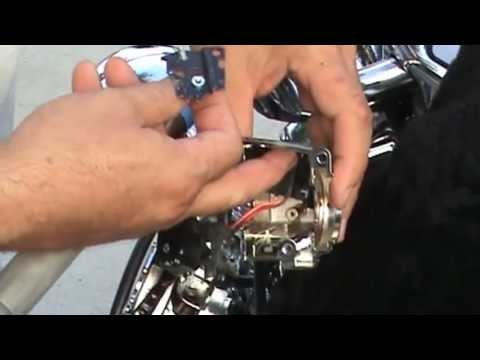 2003 Harley Davidson Sportster Wiring Diagram Switch Cover Replacement Road King Classic Youtube