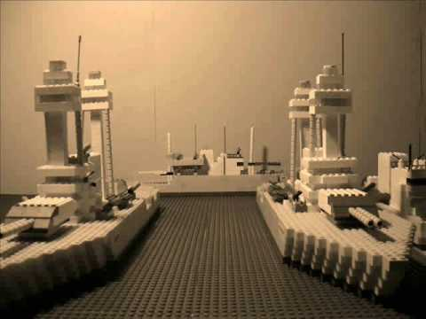 Pearl Harbor Attack Done In Lego