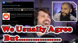 Debating  @Destiny  on dating etiquette + review and advice
