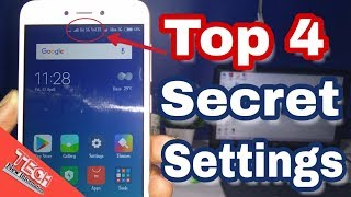 Xiaomi Redmi 5a Top 4 Hidden Features Tips and Tricks [Hindi] by Tech New Information