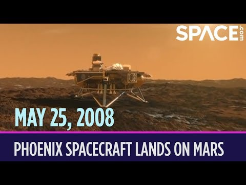 OTD in Space – May 25: Phoenix Spacecraft Lands on Mars
