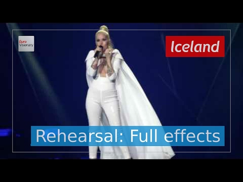 Svala - Paper - Iceland - Second Rehearsal - Eurovision Song Contest 2017 (4K)