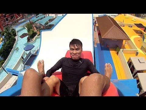 Slide Up! Water Slide at Wild Wild Wet