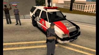 Policia 24 Horas GTA - Pinote no Tráfico