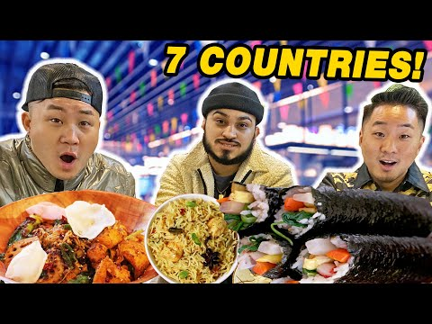 The MOST DIVERSE ASIAN FOOD COURT IN BOSTON (7 Ethnicities!)