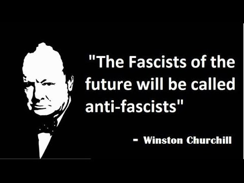 Image result for the fascists of the future will be called anti-fascists