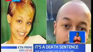 Prison beauty queen Ruth Kamande has been sentenced to death