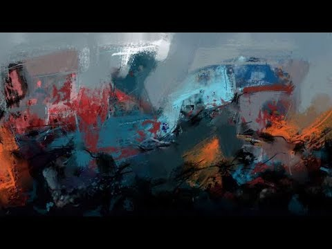 Abstract Painting #18 painting tutorial how to make abstract painting abstract painting painting for
