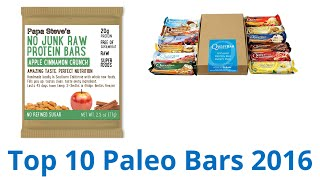 10 Best Paleo Bars 2016
