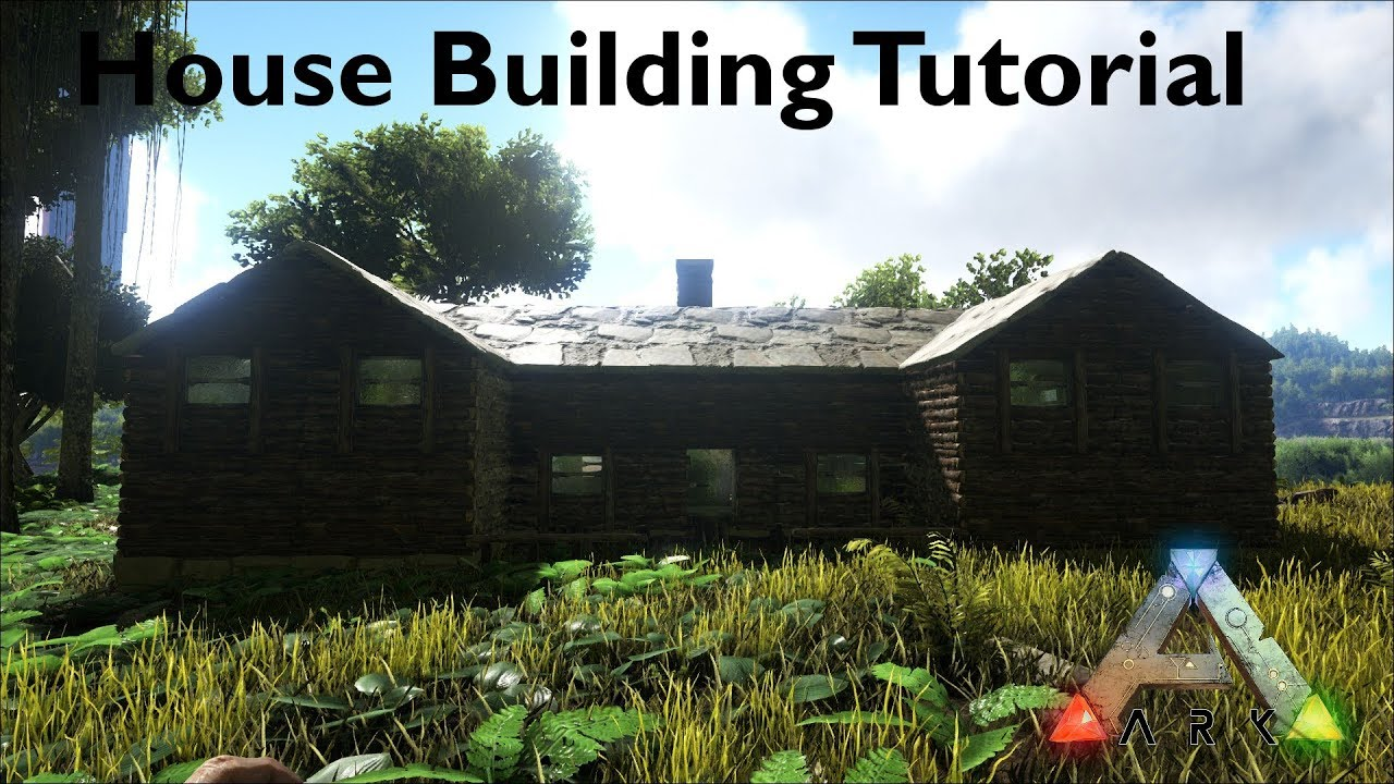 Ark Survival Evolved Haus Bau Tutorial Youtube