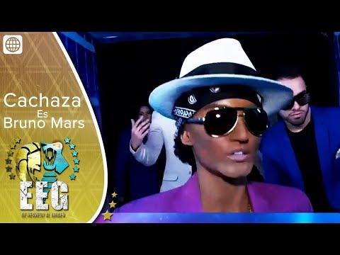 EEG de Regreso al Origen - Cachaza sorprende al convertirse en Bruno Mars
