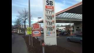 Жизнь в Германии. Каменц. Цена бензина и дизельного топлива.(, 2014-12-16T16:49:58.000Z)