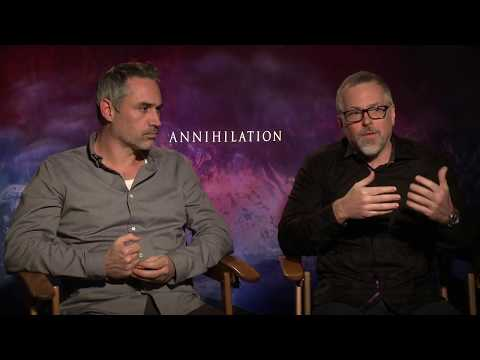 ANNIHILATION Alex Garland & Jeff VanderMeer Interview