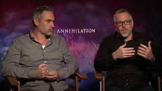 ANNIHILATION Alex Garland & Jeff VanderMeer Interview