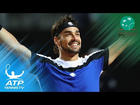 Fabio Fognini stuns Andy Murray: Top Hot Shots & Highlights | Rome 2017 Day 3