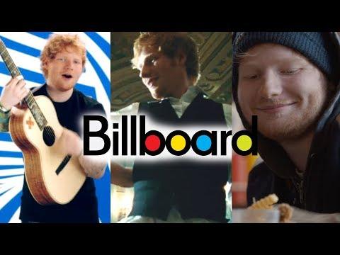 Ed Sheeran - Billboard Chart History