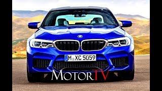 ALL NEW 2018 BMW M5 (F90) 4.4 V8 Bi-turbo 600 HP L BEAUTY SHOTS L EXTERIOR