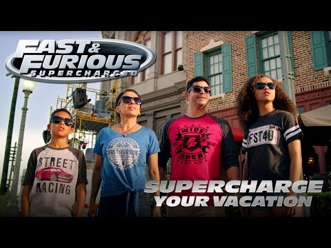 Supercharge Your Vacation | Fast & Furious - Supercharged