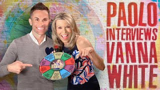 Super fun interview with Vanna White!