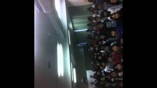 平岡公園小学校の6年生合唱