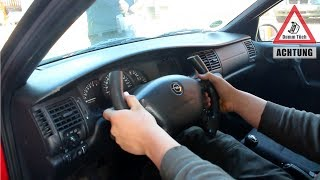 Sportlenkrad selbst bauen - Auto mit Pinsel lackieren | Dumm Tüch Opelix