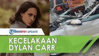 Kronologi Kecelakaan Dylan Carr, Tersangkut di Truk dan Terseret hingga 500 Meter, Mobil Rusak Parah