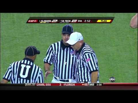 2009 Chick-Fil-A College Football Kickoff #5 Alabama vs #7 Virginia Tech