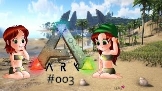 Angriff der Killer-Dinos - ARK:Survival Evolved #003  Faceam   LPT  