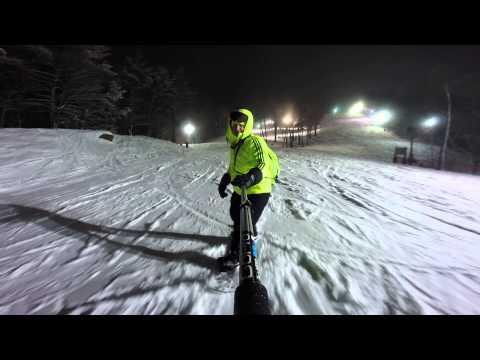 Robert Snowboarding Saturday Nite @ Pat's Peak Henniker New Hampshire.
