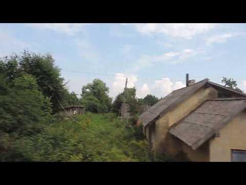 Поезд № 29 «ЯНТАРЬ» Москва-Калининград Едем по Нестеровскому району – 20 июля 2018