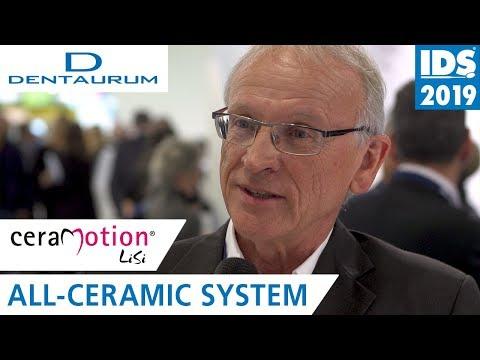 ceraMotion® LiSi - The New All-Ceramic System | DENTAURUM @ IDS 2019