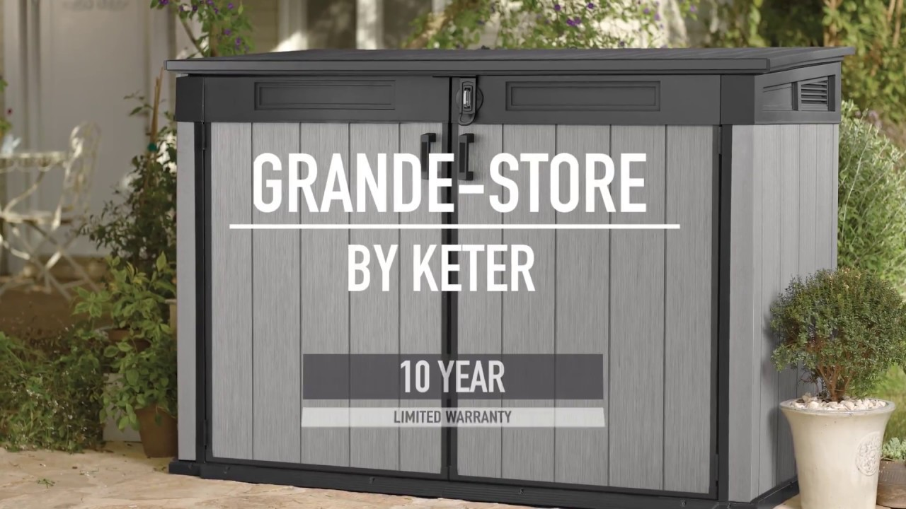 Keter High Store Grande Store Duotech Sheds Keter