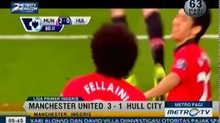 Goal !! Manchester United Vs Hull City 3-1