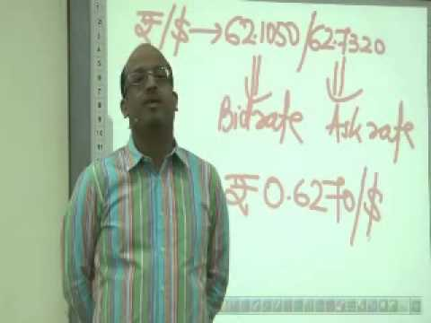 Sanjay Saraf's class on FOREX Management 1 -  PART I