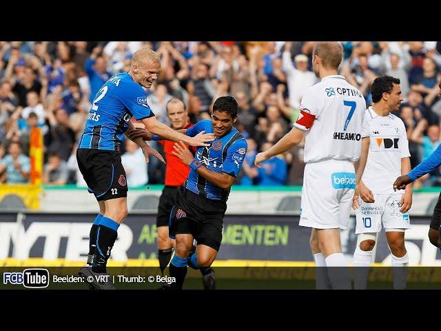 2010-2011 - Jupiler Pro League - 10. Club Brugge - AA Gent 3-2
