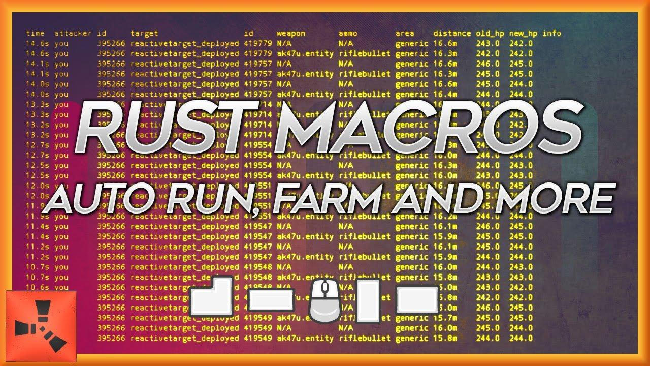 Smash's Rust Macro List 2017
