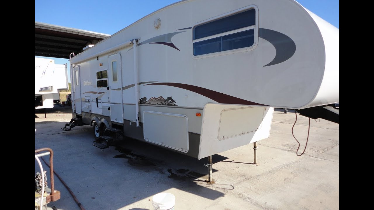 2010 outback fifth wheel by keystone used fifth wheel travel trailers for sale youtube. Black Bedroom Furniture Sets. Home Design Ideas