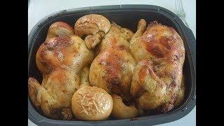 Куры в духовке на обед